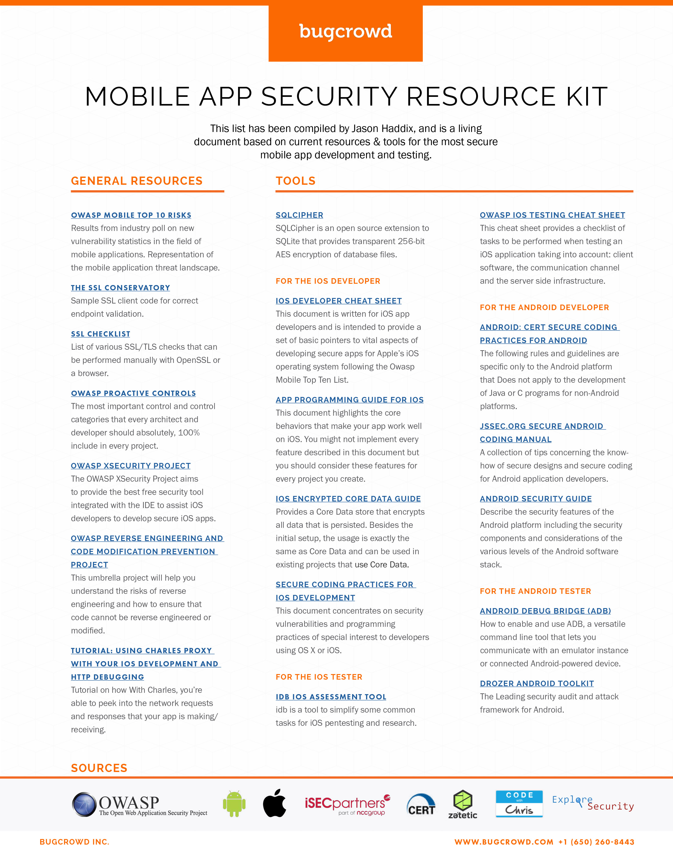 Mobile App Security Resource Kit