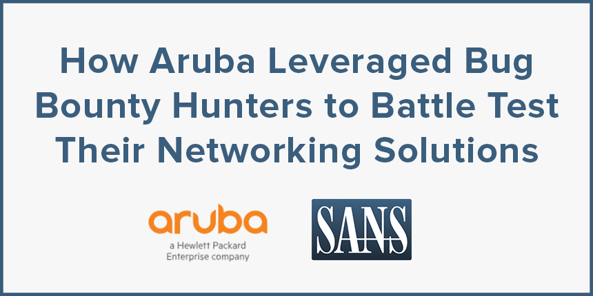 SANS Webinar with Jon Green of Aruba