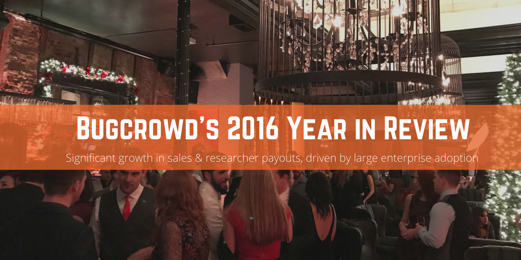 Bugcrowd Caps 2016 with Record Growth