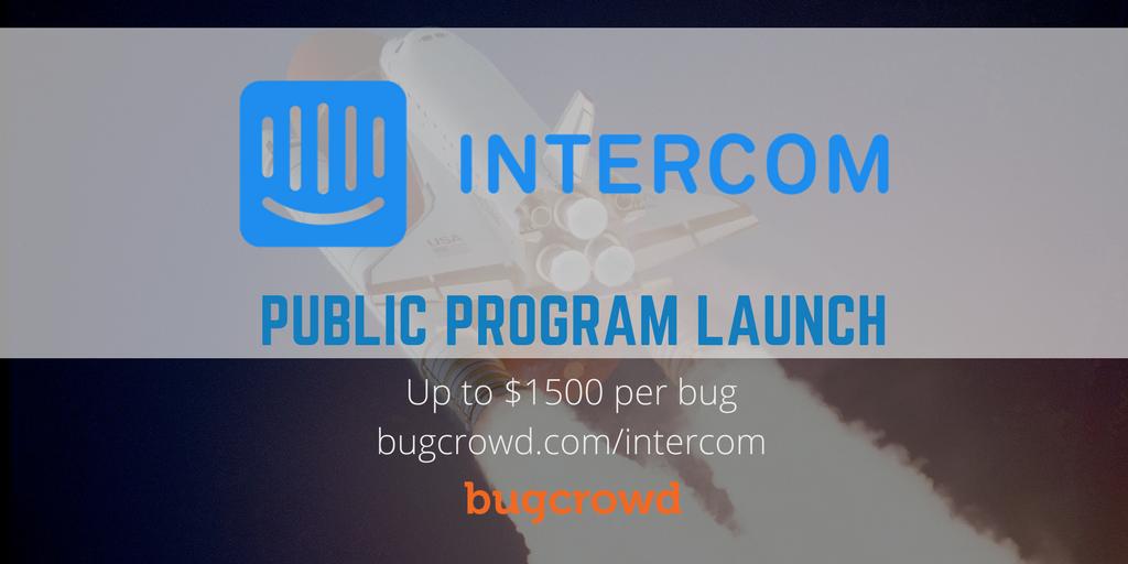 Intercom Secures Customer Communications Through Bugcrowd Bug Bounty Program