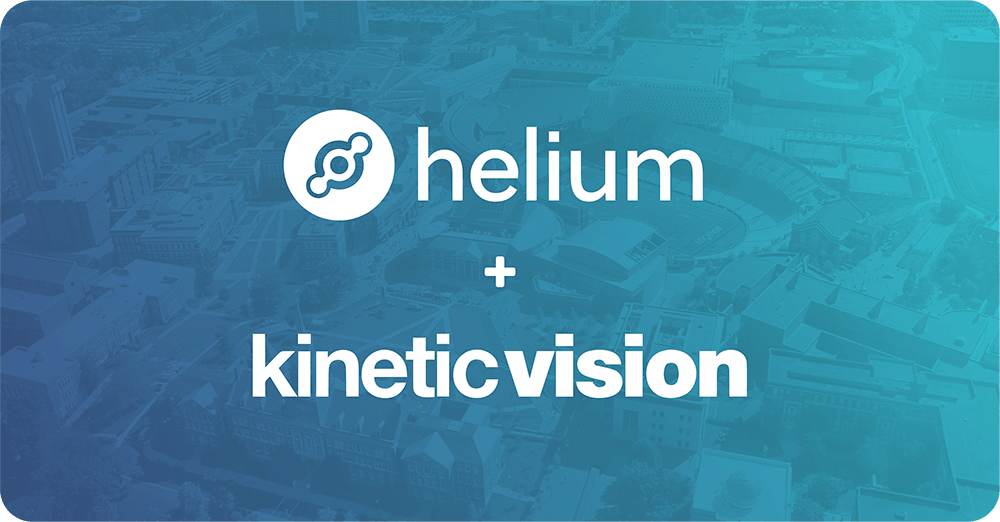 Kinetic Vision Partners with Helium as a Sponsor for the RevolutionUC Hackathon image