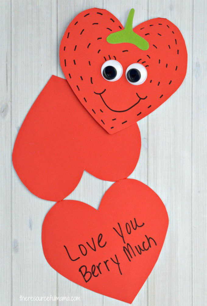 9 easy valentine's craft projects  daycare detector blog