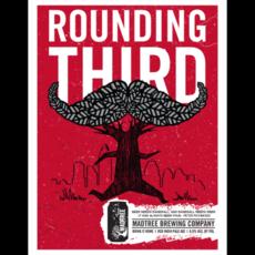 ROUNDING THIRD poster