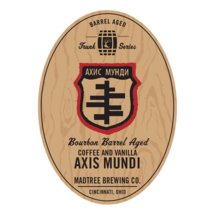 Bourbon Barrel Aged Axis Mundi with Coffee and Vanilla