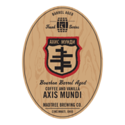 Bourbon Barrel Aged Axis Mundi with Coffee and Vanilla