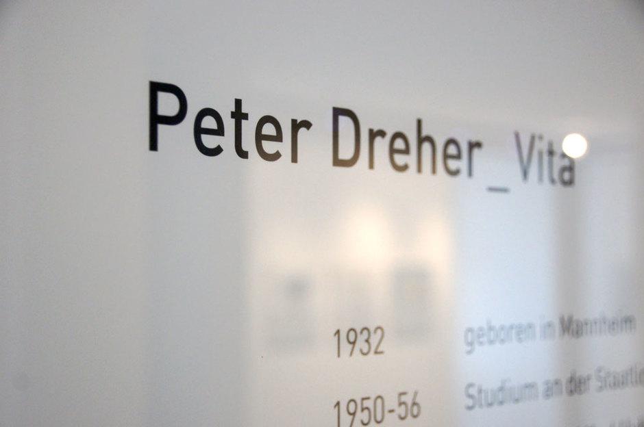 Peter Dreher in St. Märgen