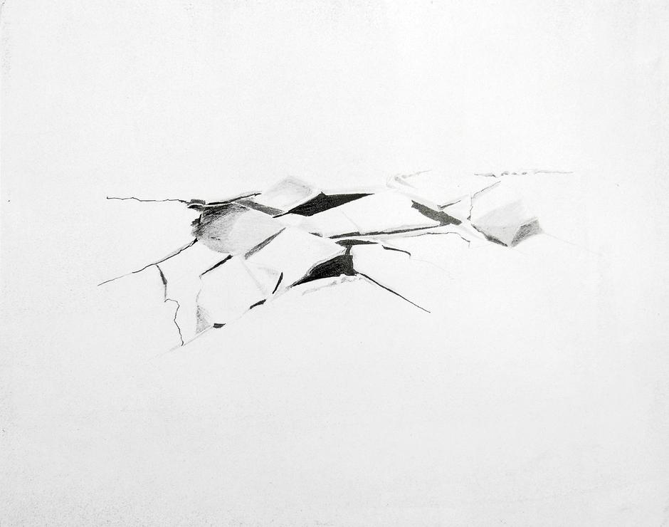 Sabine K Braun _ Installationen<br>Marianne Maul _ Zeichnungen